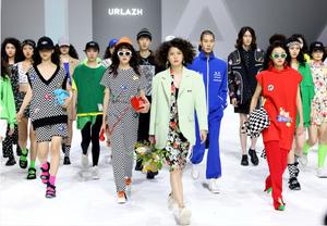 상하이 패션위크서 공개된 URLAZH 유란 2022 S/S 컬렉션